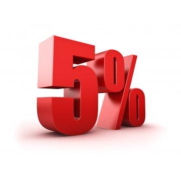 Hàng hóa dịch vụ chịu thuế thuế giá trị gia tăng 5%