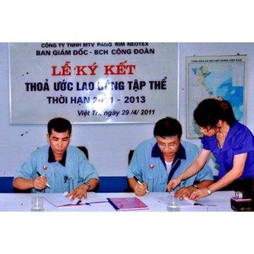 Dịch vụ đăng ký thỏa ước lao động tập thể